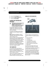 Land Rover Freelander 2 Handbook Owners Manual, 2014, 2015 page 32