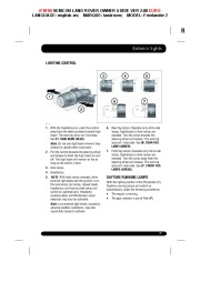 Land Rover Freelander 2 Handbook Owners Manual, 2014, 2015 page 39