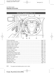 2010 Mazda CX 9 Owners Manual, 2010 page 8