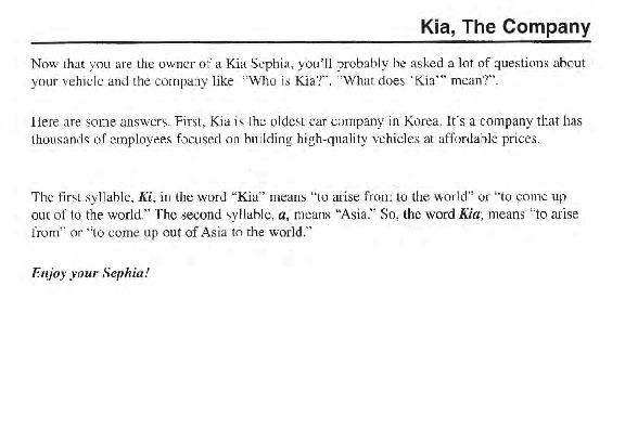 2000 kia sephia owners manual rh auto filemanual com 2000 kia sephia service manual 2000 kia sephia repair manual pdf