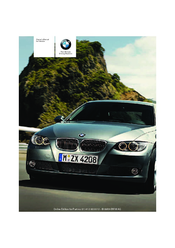 2010 bmw 3 series owners manual rh auto filemanual com