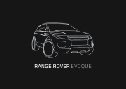 Land Rover Evoque Catalogue Brochure, 2012 page 1
