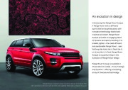 Land Rover Evoque Catalogue Brochure, 2012 page 3