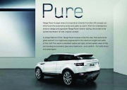 Land Rover Evoque Catalogue Brochure, 2012 page 5