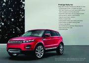 Land Rover Evoque Catalogue Brochure, 2012 page 9