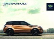Land Rover Evoque Catalogue Brochure, 2014 page 1
