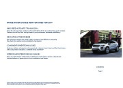 Land Rover Evoque Catalogue Brochure, 2014 page 2