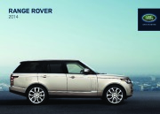 Land Rover Range Rover Catalogue Brochure, 2014 page 1