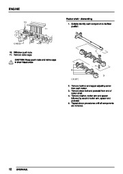 Land Rover Discovery, Defender, Range Rover Gearbox Parts Catalog, 1997 page 34