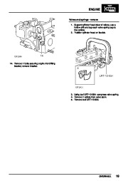 Land Rover Discovery, Defender, Range Rover Gearbox Parts Catalog, 1997 page 41