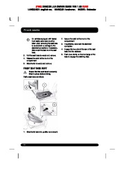 Land Rover Defender Handbook Owners Manual, 2014, 2015 page 10