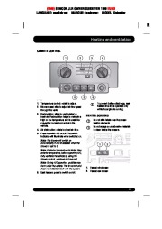 Land Rover Defender Handbook Owners Manual, 2014, 2015 page 29