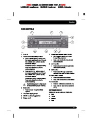 Land Rover Defender Handbook Owners Manual, 2014, 2015 page 35