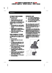 Land Rover Defender Handbook Owners Manual, 2014, 2015 page 44