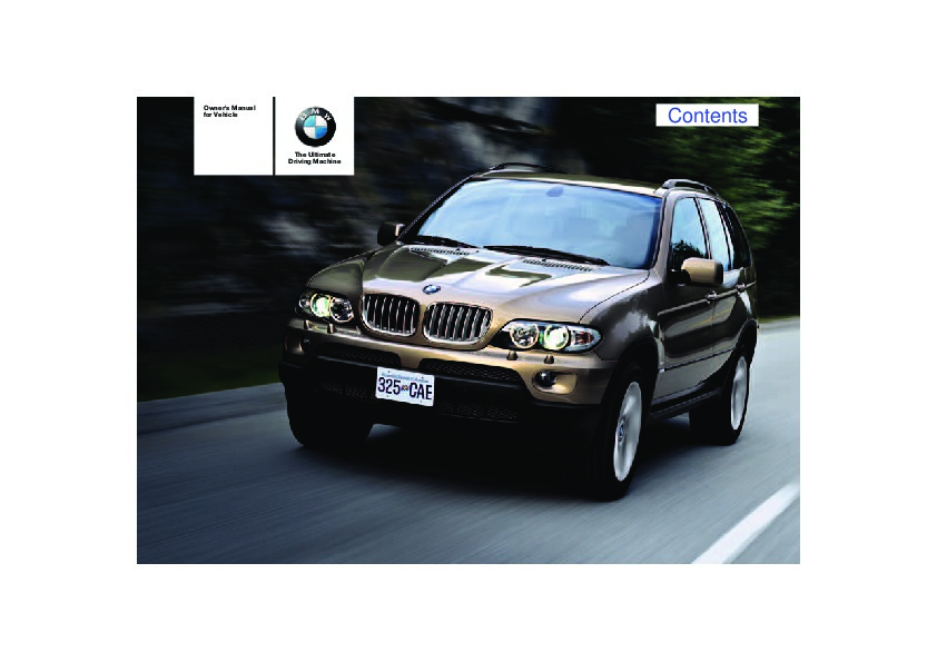2004 bmw x5 3 0i 4 4i 4 8is e53 owners manual rh auto filemanual com bmw x5 e53 service manual download bmw x5 e53 service manual download