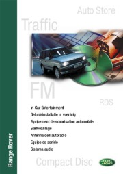 2005 Land Rover Audio Manual page 1