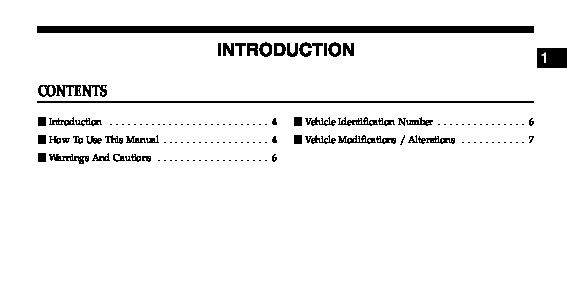 2006 chrysler pacifica owners manual rh filemanual com 2006 pacifica repair manual pdf 2006 pacifica service manual free