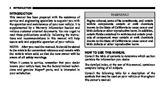 2006 chrysler pacifica owners manual rh filemanual com 2006 pacifica service manual 2006 pacifica owners manual