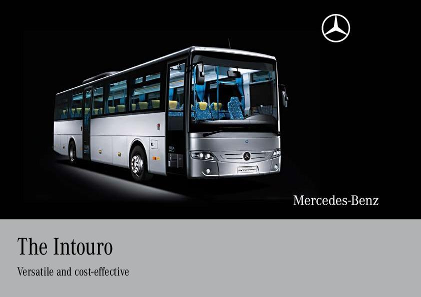 2010 mercedes benz intouro bus catalog for Mercedes benz catalog online