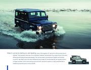 Land Rover Defender Catalogue Brochure, 2010 page 6
