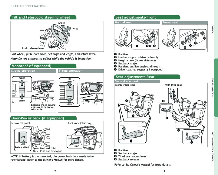 toyota highlander owners manual 2008