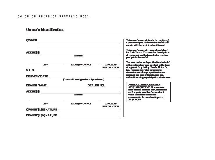 2007 honda civic dx dx g lx ex si owners manual Honda Civic LX 4 Door 2007 honda civic lx coupe owners manual