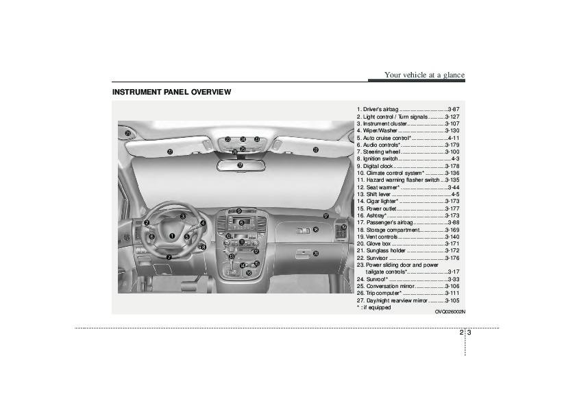 2006 kia sedona owners manual rh auto filemanual com 2006 kia sedona service manual pdf 2006 Kia Sedona Problems