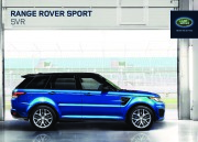 Land Rover Range Rover SVR Catalogue Brochure, 2014 page 1