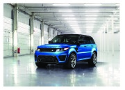 Land Rover Range Rover SVR Catalogue Brochure, 2014 page 2