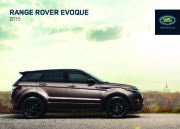 2015 Land Rover Evoque Catalog Brochure page 1