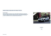 Land Rover Evoque Catalogue Brochure, 2015 page 2
