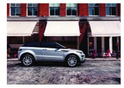 Land Rover Evoque Catalogue Brochure, 2015 page 7