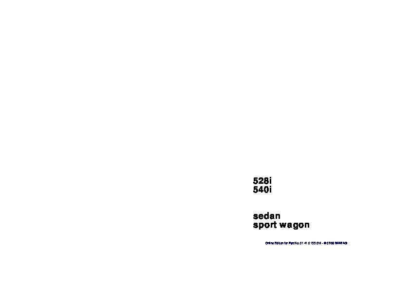 2000 bmw 5 series 528i 540i e39 owners manual rh auto filemanual com 2000 bmw 528i repair manual 2000 bmw 528i repair manual