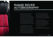 Land Rover Full Range Catalogue Brochure, 2011 page 9