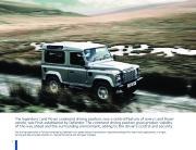 Land Rover Defender Catalogue Brochure, 2011 page 10