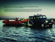 Land Rover Defender Catalogue Brochure, 2011 page 6