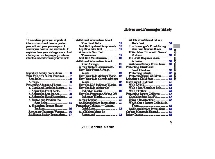 2008 honda accord sedan owners manual rh auto filemanual com honda pilot 2008 owners manual honda fit 2008 owners manual