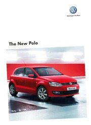 2010 Volkswagen Polo VW Catalog page 1