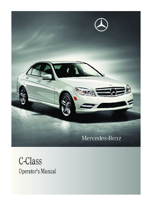 2011 mercedes benz c250 c300 c350 4matic c63 amg w204 owners manual rh auto filemanual com 2008 c63 amg owners manual 2011 c63 amg service manual