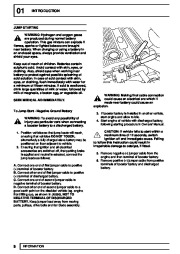 Land Rover Defender Workshop Manual, 1999, 2000, 2001, 2002 page 15