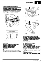 Land Rover Defender Workshop Manual, 1999, 2000, 2001, 2002 page 18