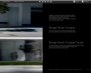 Land Rover Evoque 2 Catalogue Brochure, 2012 page 9