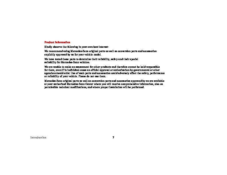 mercedes benz a160 owners manual pdf