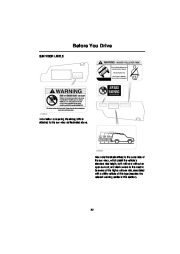 Land Rover Discovery Handbook Owners Manual, 2004 page 23