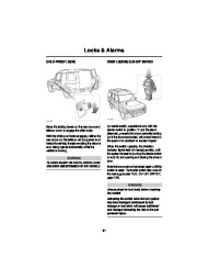 Land Rover Discovery Handbook Owners Manual, 2004 page 38