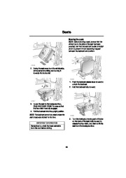 Land Rover Discovery Handbook Owners Manual, 2004 page 46